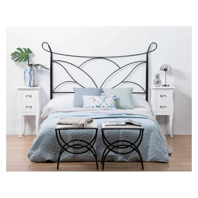 Cabezal Forja Negro Mobiliario Para Dormitorios Online