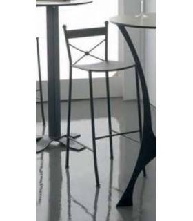 Taburete de forja con 3 alturas