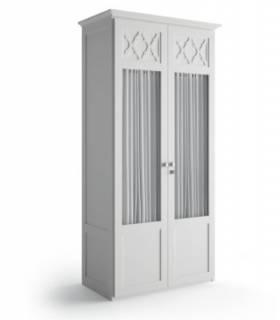 Armario de dos puertas de estilo clásico