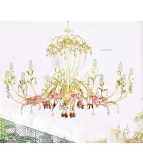LAMPARA DE TECHO ESTILO CLASICO, REF: ALA L-2326/12