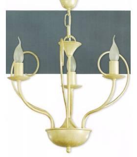 LAMPARA DE TECHO ESTILO COLONIAL, REF: TORA L-2344/3