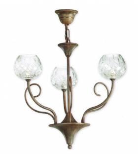 LAMPARA DE TECHO ESTILO COLONIAL, REF: TORA L-2345/3