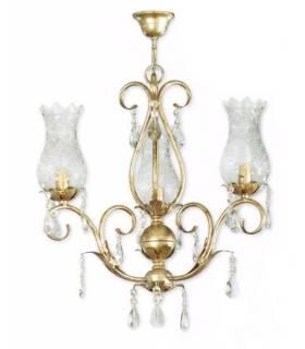 LAMPARA DE TECHO ESTILO CLASICO, REF: HILTON L-2330/3