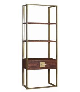 librero vintage estructura metal