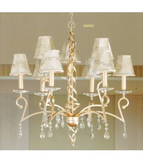 LAMPARA DE TECHO ESTILO COLONIAL, REF: SUDAN L-2271/9