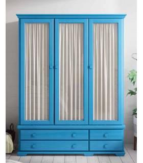 armario 3 puertas con cristal