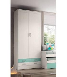 armario 2 puertas barato alto