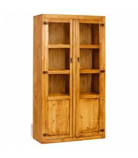 Vitrina 2 puertas rústica de muebles Keunka.