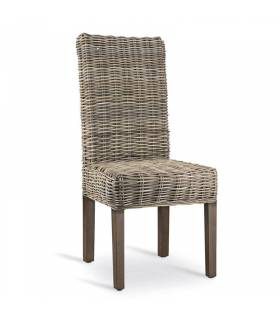Silla rattan de moycor color natural