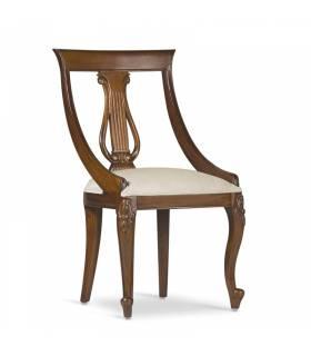 Silla vintage madera de caoba Moycor