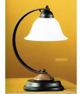 LAMPARA DE SOBREMESA ESTILO RUSTICO, REF: TARA S-2200