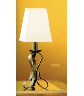LAMPARA DE SOBREMESA ESTILO RUSTICO, REF: TARA S-2201