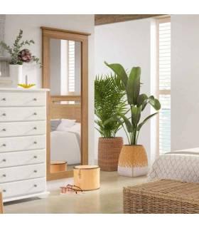 espejo vestidor de pino