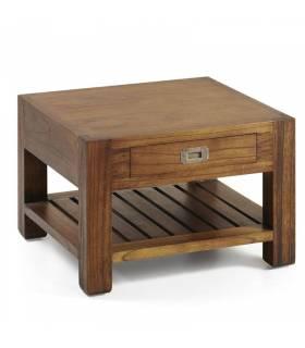 mesa centro cuadrada 1 cajón