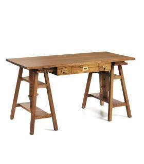 escritorio grande 3 cajones