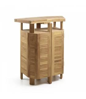 Mueble bar jardín teca Moycor