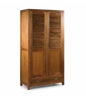 armario modelo marco polo 4 + 1 cajón + 2 puertas de Moycor