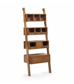 estantería 4 estantes con cajones