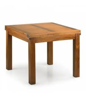 mesa de comedor cuadrada extensible