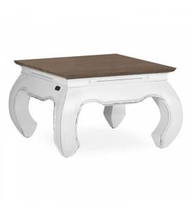 mesa de centro opium blanca
