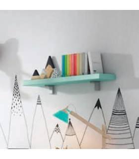 estantería pared de pino de José Ibañez