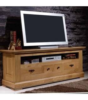 mueble ideal para colocar tu Tv y guardar objetos.