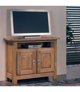 Mesa de TV de madera, ideal para tu salón.