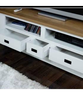 Mueble de Tv con tres cajones.