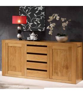 Aparador estilo colonial realizado con madera de alta calidad.