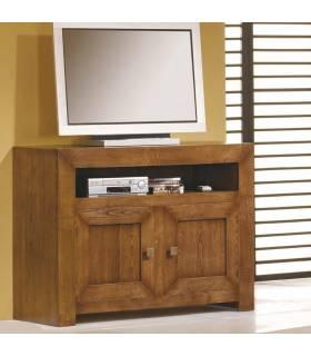 Mesa de Tv de estilo rustico.