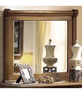 Espejo de estilo rústico