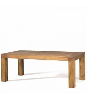 Mesa de comedor de estilo rustico colección Zoom