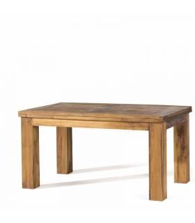 Mesa de comedor de estilo rustico.