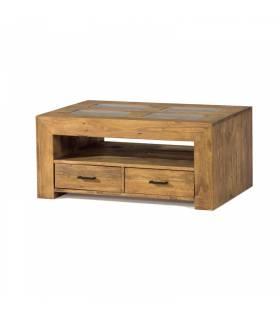 Mesa de centro de estilo rustico coleccion zoom