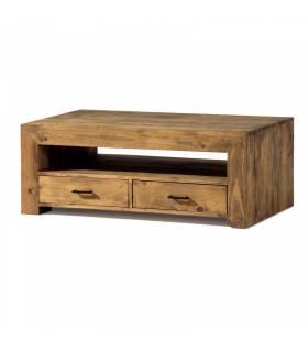 Mesa de ecentro estilo rustico coleccion zoom