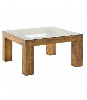 Mesa de comedor de estilo rustico coleccion zoom