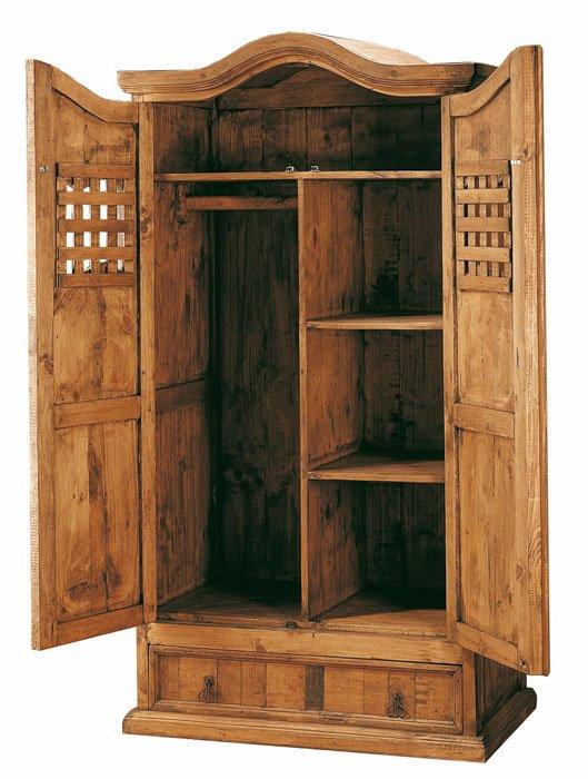 armario rustico 2 puertas