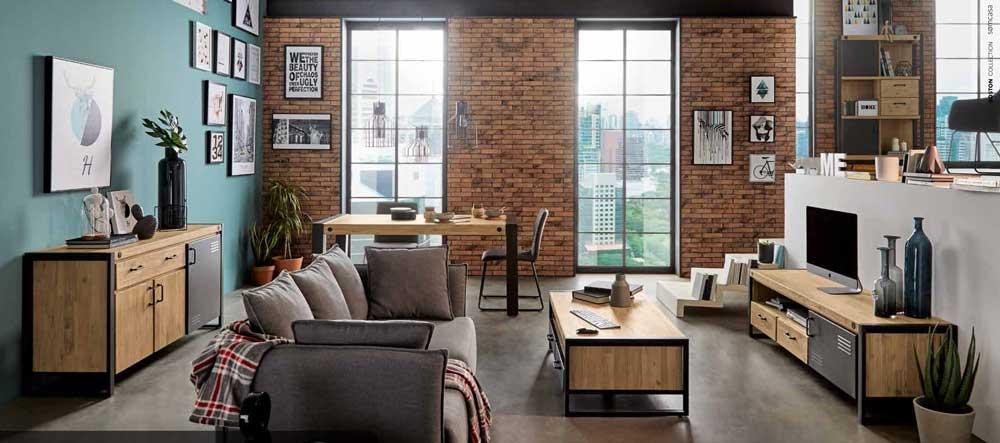 Muebles modernos de diseño colección Boston