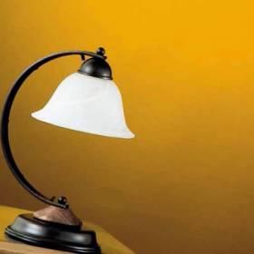 LAMPARAS DE SOBREMESA RUSTICAS