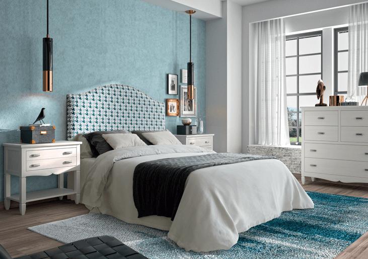 Dormitorio de matrimonio estilo clásico colección Amberes