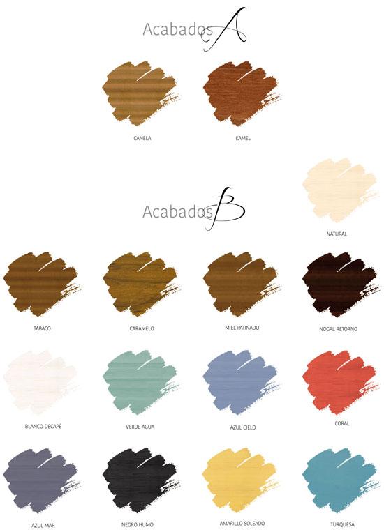 Colores Seys A Y B ref CA020