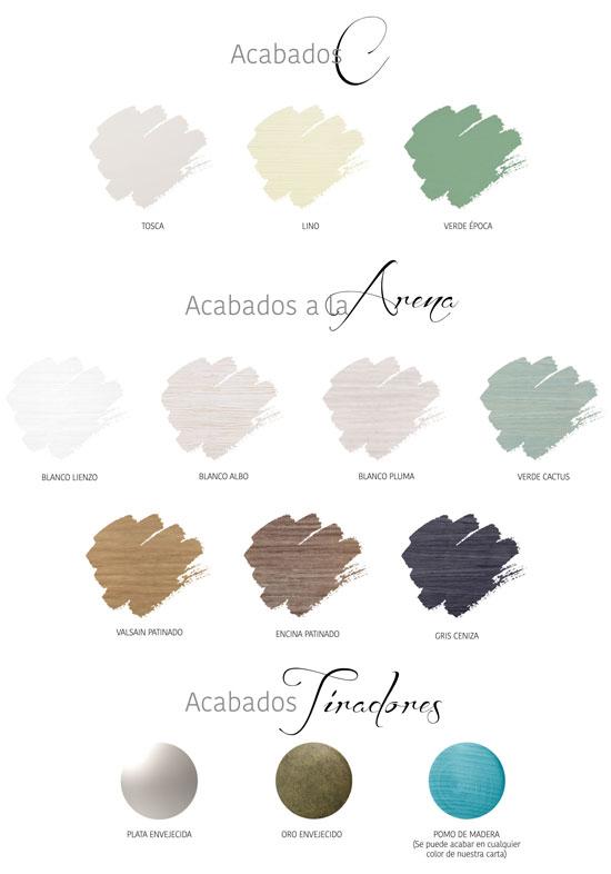 Colores Seys C Y D ref CA020