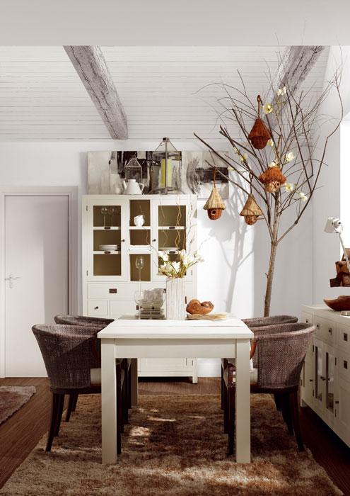 Mueble para comedor colonial