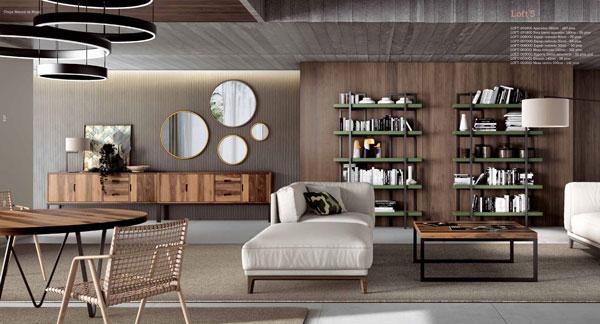 mueble contemporáneo colección loft