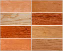 diferentes colores de madera