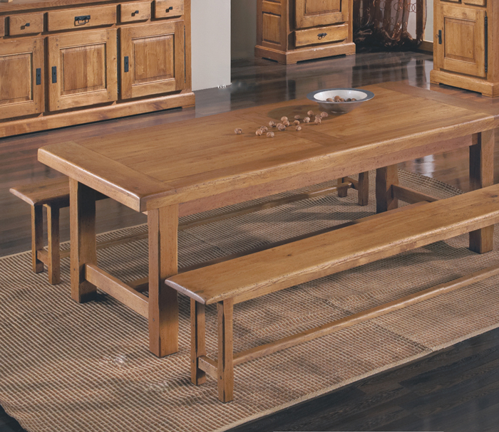 Decorar un sal n con muebles de roble macizo - Muebles de roble macizo ...