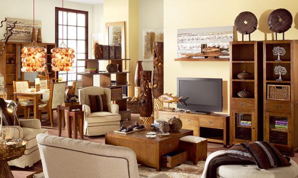 Muebles originales y fabricantes - Salones estilo colonial moderno ...
