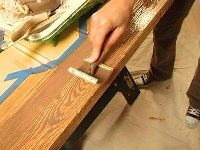 veteado de la madera