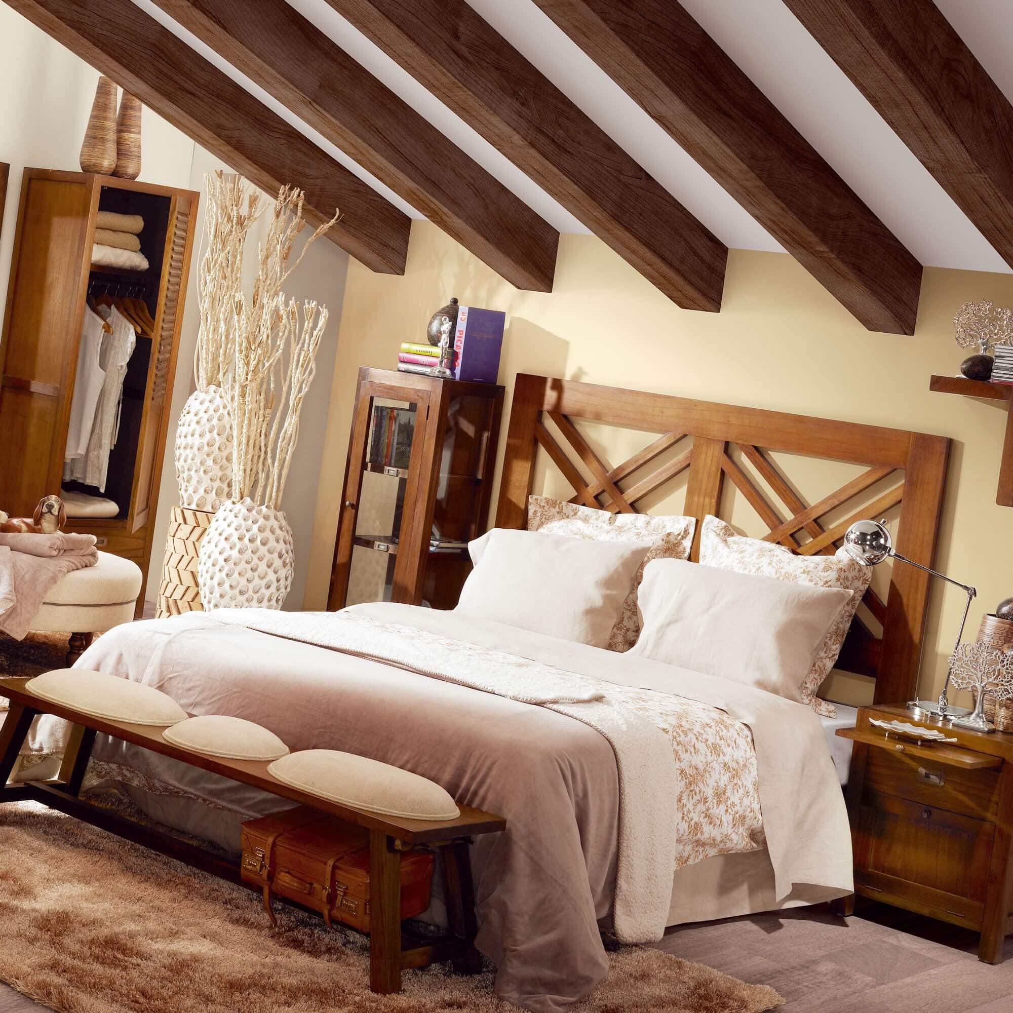 Muebles de dormitorio coloniales mueble colonial - Mueble rustico colonial ...